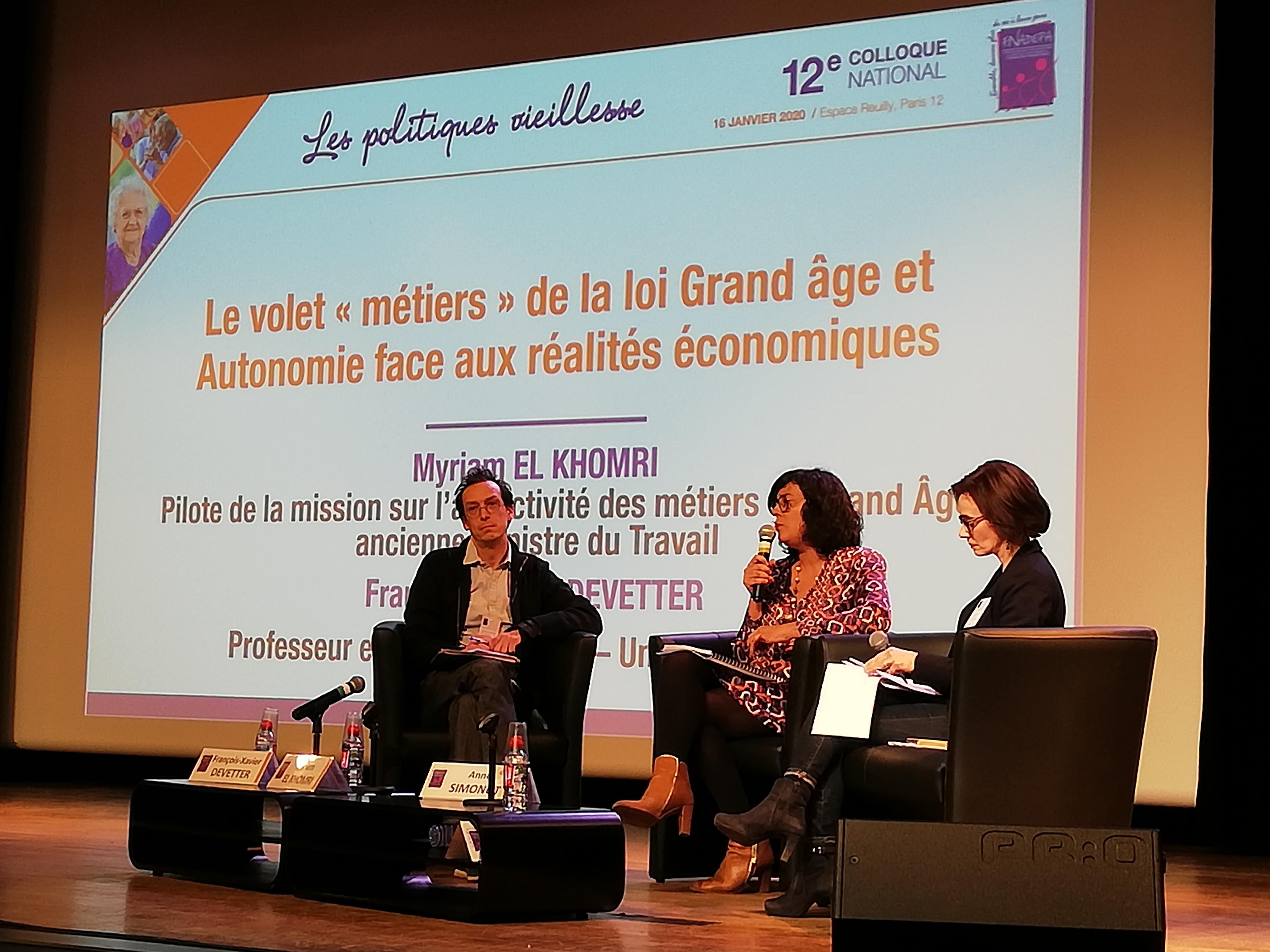 """Les Politiques Vieillesse : le volet ''Métiers"""" de la loi Grand Age et Autonomie"""